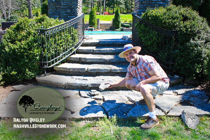 Replacing-broken-stone-nashville-2, brentwood, franklin, spring hill, and nolensville tn.