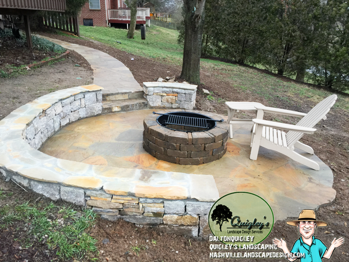 Nashville-Stonework-Patio in Franklin TN, and Brentwood, Spring Hill, and Nolensville.