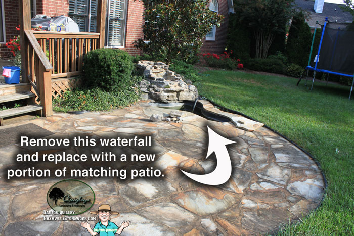 Nashville-Patio-Repairs, brentwood, franklin, spring hill, and nolensville tn.