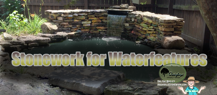 Nashville-Stonework-Waterfeatures-Ponds Brentwood Franklin Spring Hill and Nolensville TN stone and rock projects